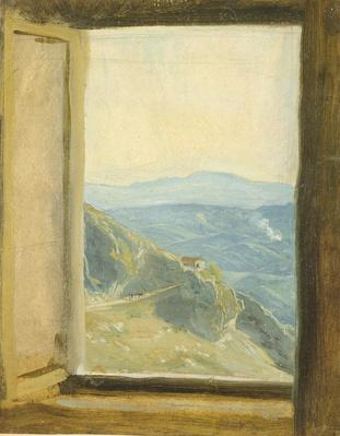 View of Campania, c.1833