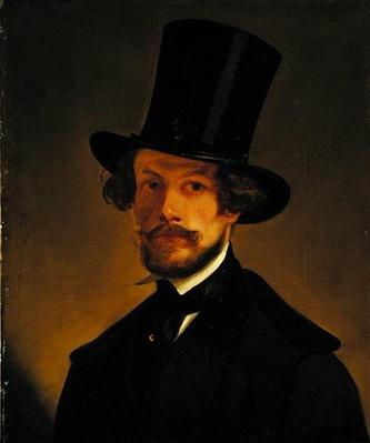 Self portrait, c.1845