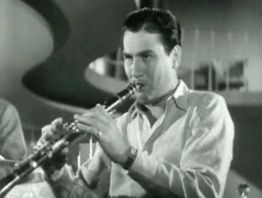 Artie Shaw Playing Clarinet | Ken Burns: Jazz