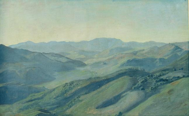 View of the countryside in the Tyrol, c.1842
