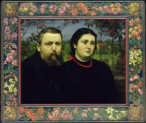 The Artist with his Wife Bonicella, 1887