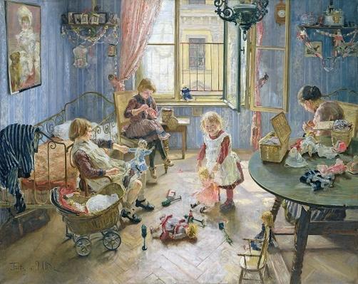 The Nursery, 1889