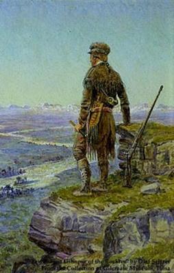 """Lewis' First Glimpse of the Rockies"" | Ken Burns: Lewis & Clark"
