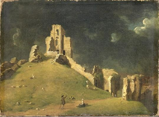 Corfe Castle, Dorset, 1764
