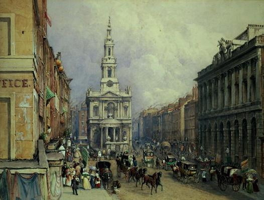 St. Mary le Strand, 1836