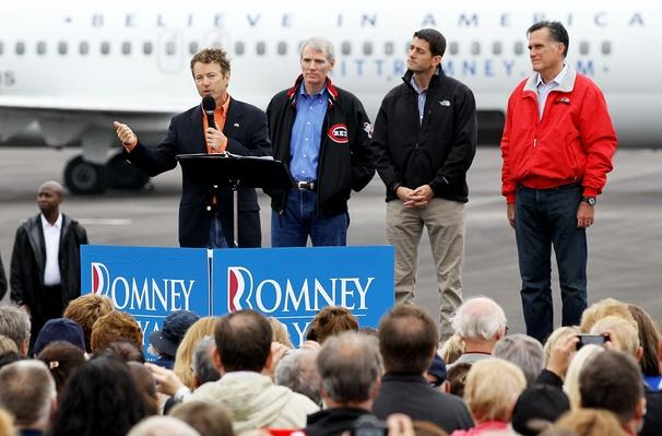 Romney And Ryan Hold Victory Rally In Ohio | U.S. Presidential Elections 2012