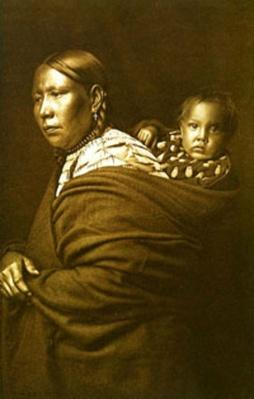 Sioux Woman with Papoose | Ken Burns: Lewis & Clark