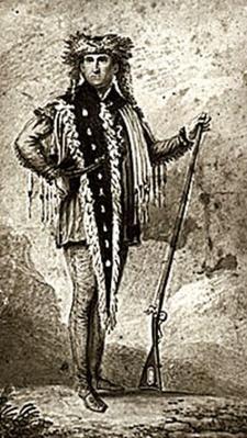 Watercolor of Captain Meriwether Lewis | Ken Burns: Lewis & Clark