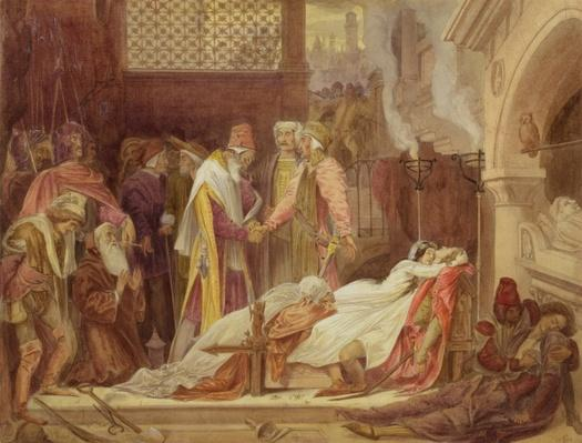 The Reconciliation of the Montagues and the Capulets, c.1854