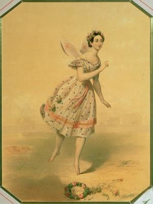 Dancer Maria Taglioni