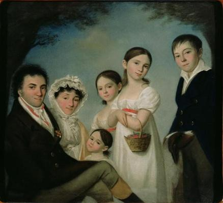 The Boratynsky Family, 1816