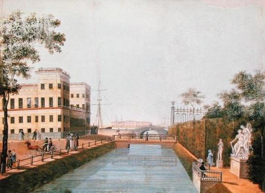 View of St. Petersburg, 1839