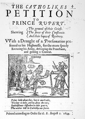 The Catholics' Petition to Prince Rupert