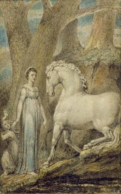 The Horse, from 'William Hayley's Ballads', c.1805-06