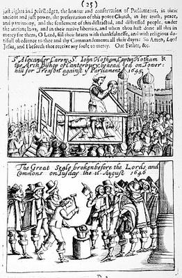 The Execution on Tower Hill of Sir Alexander Carew