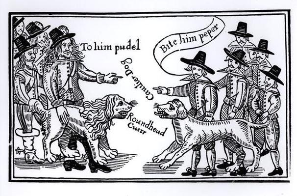 'To Him Pudel, Bite Him Peper', English Civil War propaganda