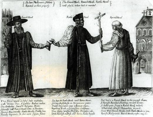 Soundhead, Rattlehead, Roundhead, 1642