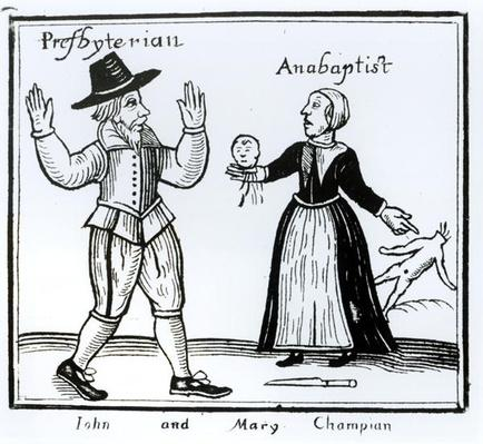 John and Mary Champian, Presbytarianism versus Anabaptism