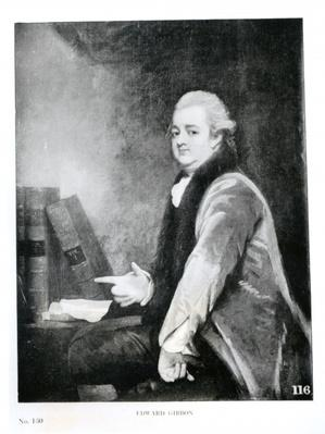Portrait of Edward Gibbon