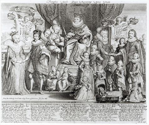 Family Portrait of James I of England