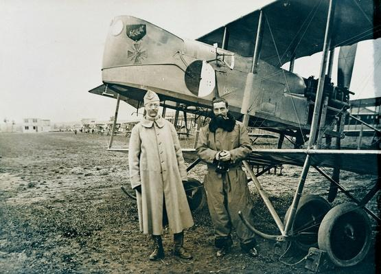 Captains Berteaux and Koppe, lynchpins of French aviation, World War I, France | The Evolution of Military Aviation