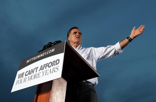 Romney Attends Victory Rally In Florida | U.S. Presidential Elections 2012