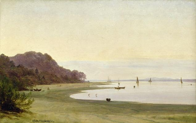 The shore of the Elbe