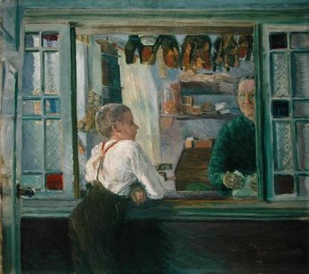 In the Junk Shop, 1897