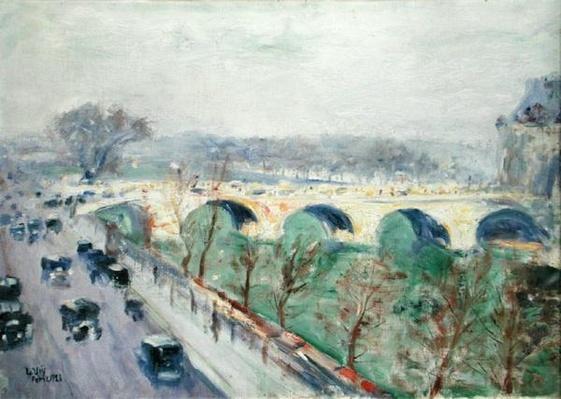 The Pont Royal in Paris, 1928