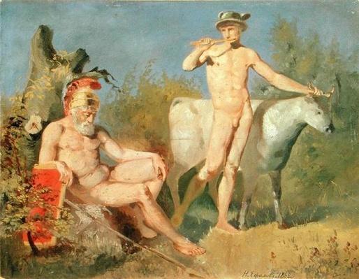 Mercury and Argus, 1862