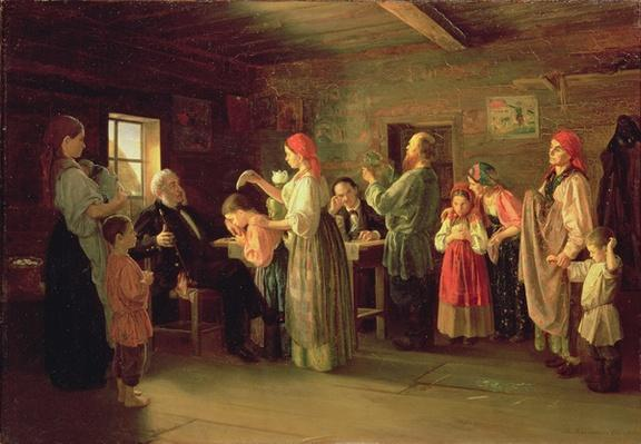 Inspection of a Childrens Home, 1866