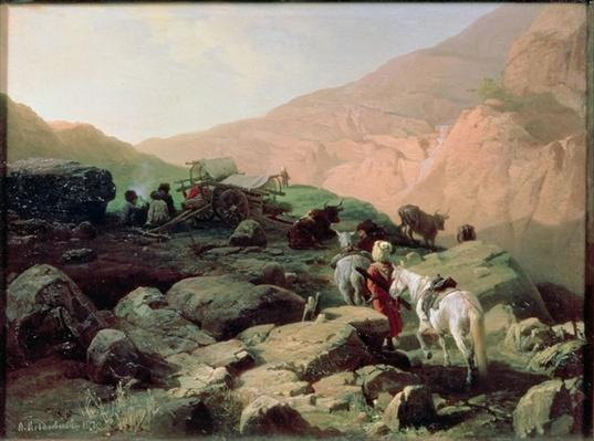 The Caucasus, 1872