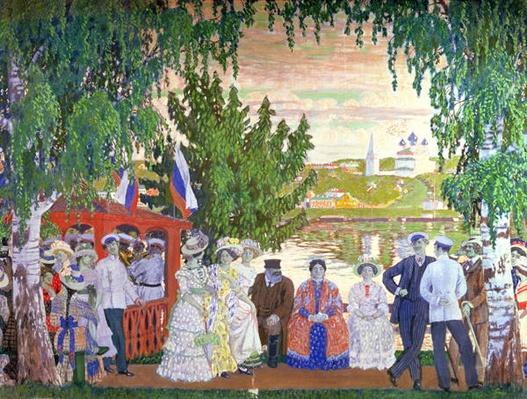 Festive Gathering, 1910