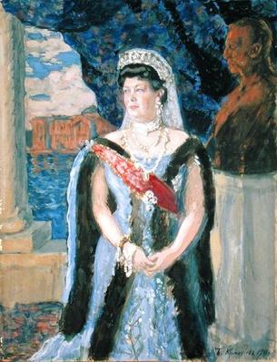 Portrait of the Grand Duchess Maria Pavlovna, 1911