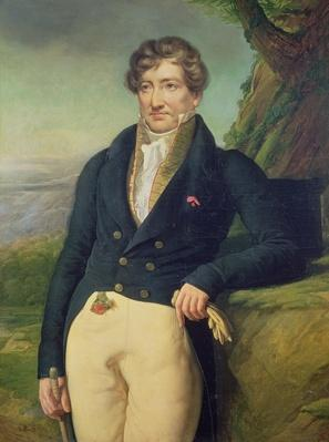 Portrait of the French Zoologist and Paleontologist, Georges Cuvier