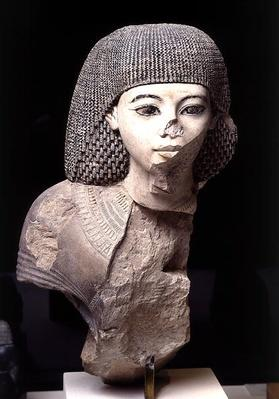Bust of the Royal Scribe, Meniou, New Kingdom, c.1391-53 BC