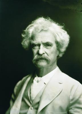 Portrait of Mark Twain, 1907 | Ken Burns: Mark Twain