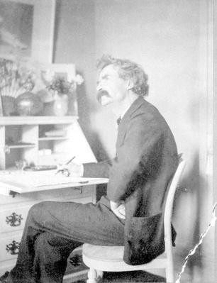 Mark Twain at His Desk | Ken Burns: Mark Twain