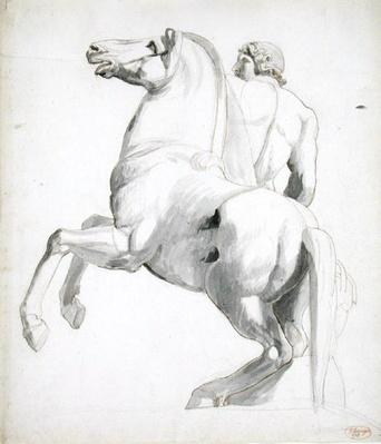 Horseman of Montecavallo, 1773-74