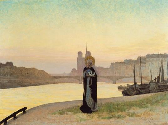 St. Genevieve, 1885