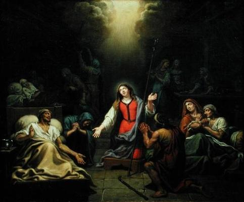 St. Genevieve Protecting the Ill, 1680