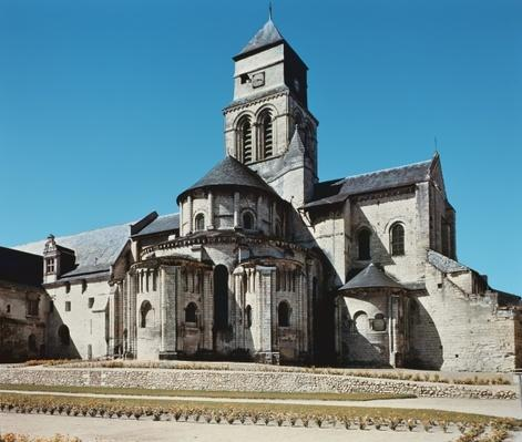 Exterior of the abbey church