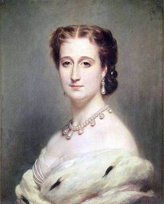 Portrait of the Empress Eugenie
