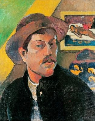 Self Portrait in a Hat, 1893-94
