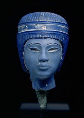 Fake royal head, originally thought to be Tutankhamun