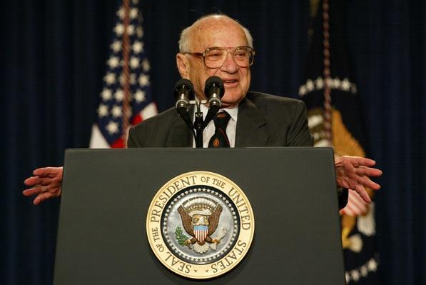 Bush Pays Tribute to Milton Friedman | The Study of Economics