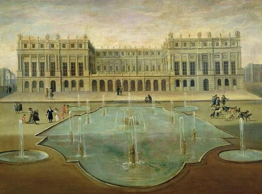 Chateau de Versailles from the Garden Side, before 1678