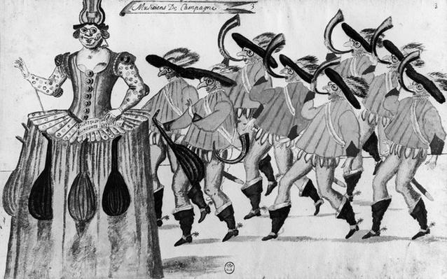 Les Fees des Forets de Saint Germain Danced at the Louvre, 11th February 1625