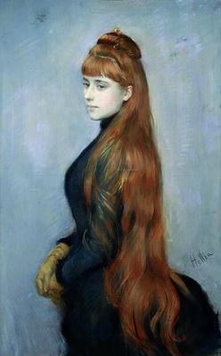 Portrait of Mademoiselle Alice Guerin