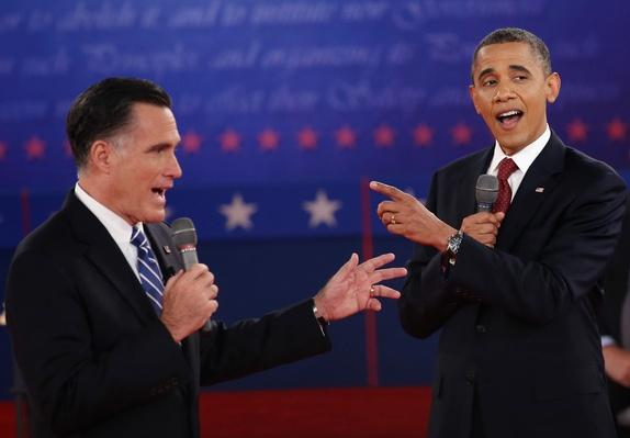 Barack Obama And Mitt Romney Participate In Second Presidential Debate | U.S. Presidential Elections 2012